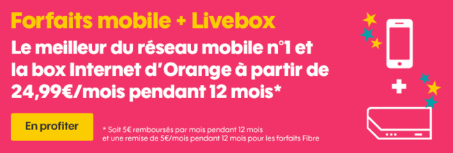 Sosh mobile + Livebox